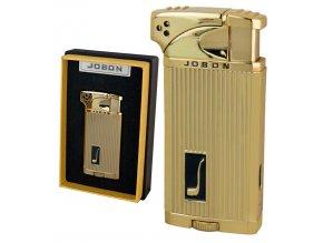 Dýmkový zapalovač JOBON GOLD s dvojitým zapalováním!