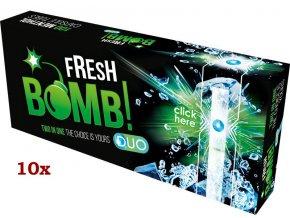Práskací dutinky FRESH BOMB MENTHOL - filtr 20mm! (10x)