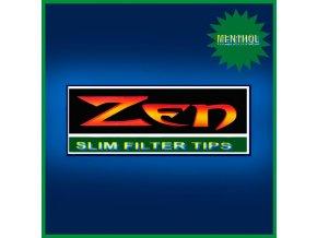 ZEN Slim Menthol Filters 200ks - 6,5mm