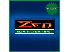 ZEN Slim Menthol Filters 200ks - 6,5mm