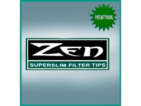 ZEN Super Slim Menthol Filters 200ks - 6,0mm