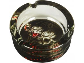Skleněný popelník GLASS GRIM REAPER 05