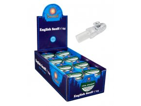 24 x English Snuff Cool Spearmint 5g + Snuffer zdarma