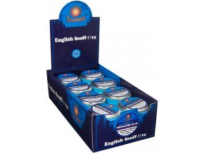 24 x English Snuff Medicated No.69 5g + Snuffer zdarma