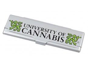 Pouzdro na cigaretové papírky CANNABIS + papírky zdarma