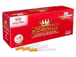 Dutinky KORONA EXTRA 500  - filtr 20mm