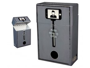 Cigaretové pouzdro s auto otevíráním SELFIE 03