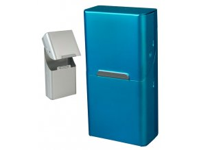 Cigaretové pouzdro s magnetem SLIM METALLIC 01