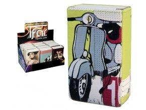 Koženkové pouzdro na měkké krabičky RETRO 02