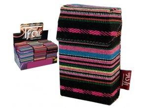Textilní pouzdro na cigarety LINES TEXTILE  PATTERN 04