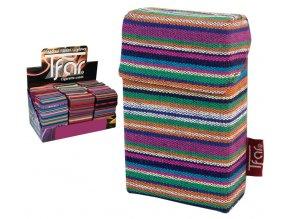 Textilní pouzdro na cigarety LINES TEXTILE  PATTERN 05