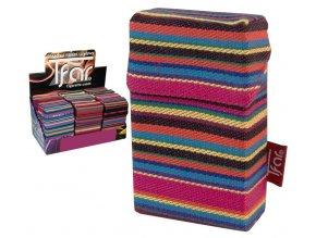 Textilní pouzdro na cigarety LINES TEXTILE  PATTERN 08