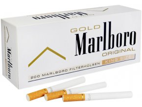 10x Dutinky MARLBORO GOLD 200 (QUALITY of GERMANY)