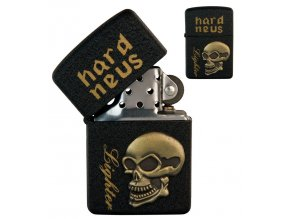 oil lighter black skull 032