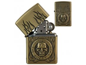 oil lighter skull symbols 022