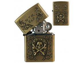 oil lighter skull symbols 042