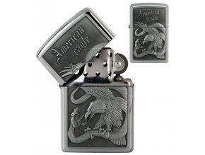 oil lighter american eagle silver 012