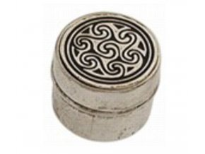 snuff metallic box celtic 012