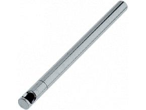 silver snuff tube l