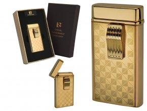 gift lighter diamond gold 013