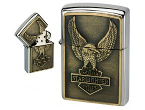 oil lighter american eagle golden plate 012