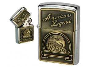 oil lighter american eagle golden plate 042
