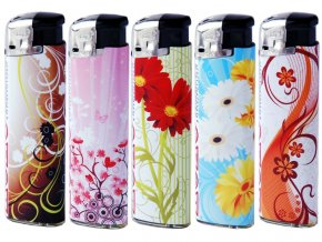 lighters flowers set 02