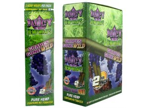 juicy hemp wrap grape