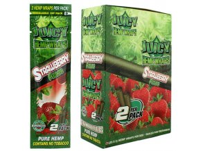 juicy hemp wrap strawberry 1