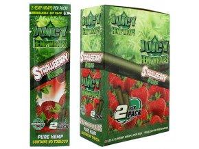 juicy hemp wrap strawberry 1