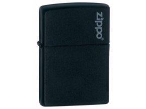 26092 black matte w zippo logo original