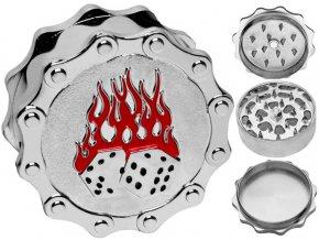 Drtička kovová 3-dílná BUDDIES 04 (5,2cm)