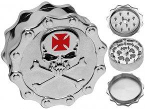 Drtička kovová 3-dílná BUDDIES 05 (5,2cm)
