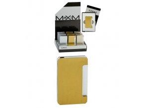 Dárkový zapalovač MAXIM GOLD
