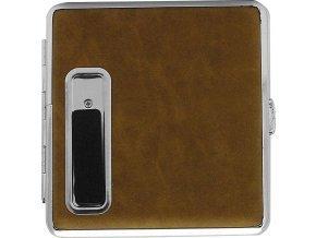 CIGARETOVÉ POUZDRO + kovový USB zapalovač 03