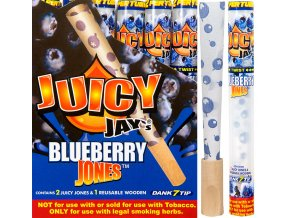 Konopné dutinky na jointy Juicy Jay´s Blueberry 1 1 / 4 2ks