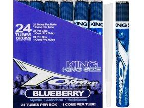Konopné dutinky na jointy Torpedoes Blueberry KS