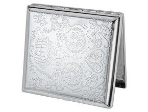 case lighter silver skul 01