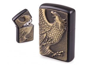 oil lighter black eagle 013