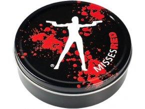 Kulatá krabička na tabák MISSES RED