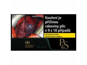 P&S BLACK 30g (MOC 132Kč)