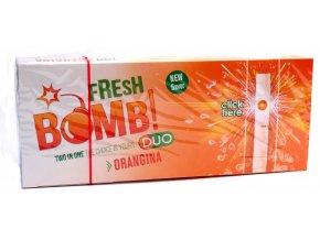 PRÁSKACÍ DUTINKY FRESH BOMB ORANGE - FILTR 20MM!