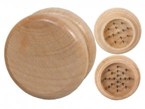 Drtička dřevěná 2-dílná