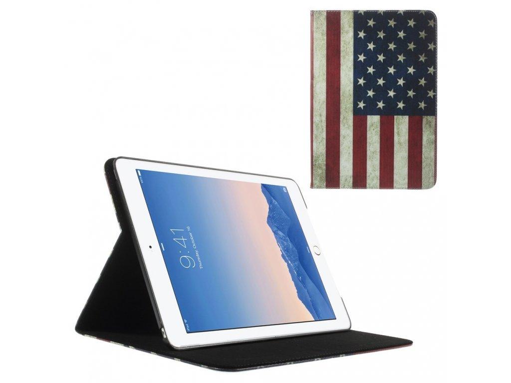Pouzdro s americkou vlajkou pro Apple iPad Air 2