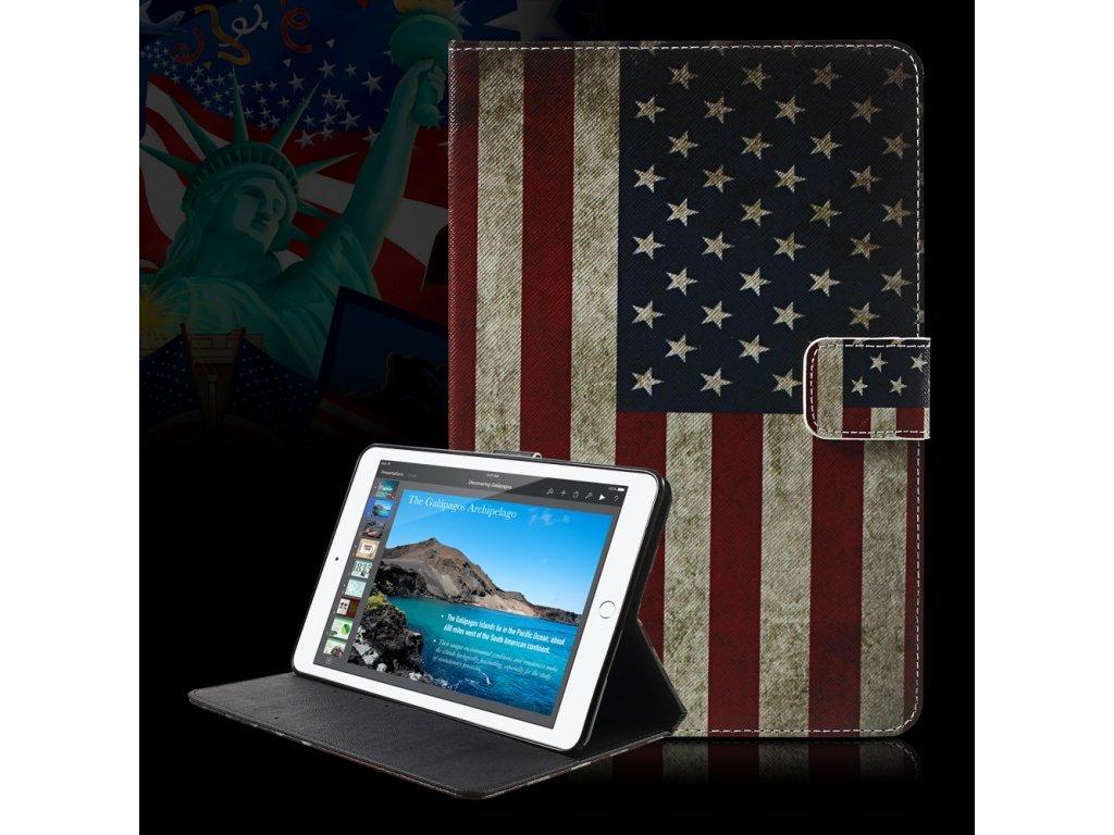 Pouzdro s americkou vlajkou pro Apple iPad Mini 4