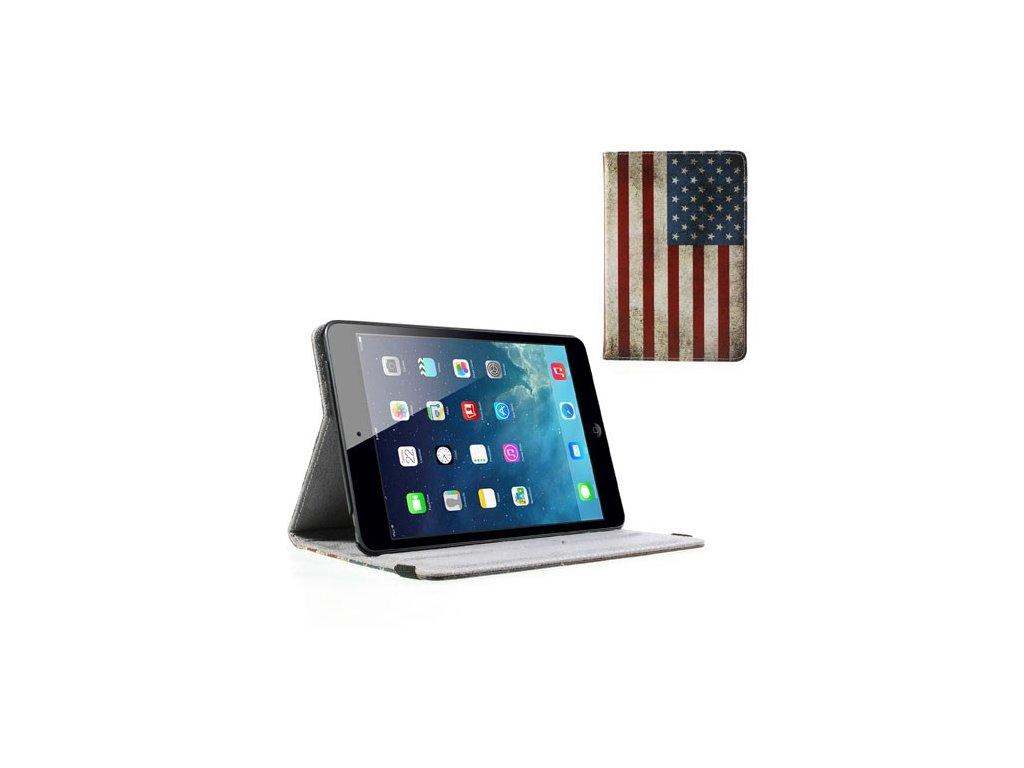 Pouzdro s americkou vlajkou pro Apple iPad Mini/ipad Mini 2