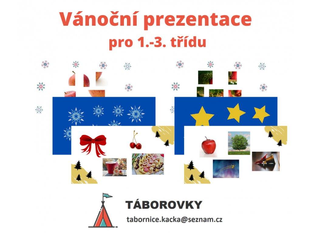 Vánoční prezentace 1.-3. třída