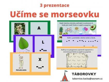 učíme se morseovku - prezentace