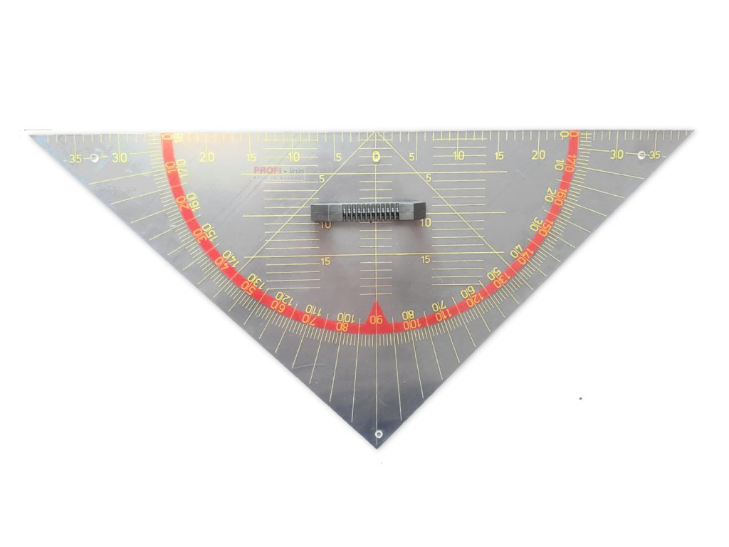 geometricky trojuhelnik cern