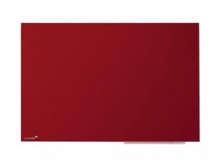 Červená skleněná tabule 80x60 nebo 60x40